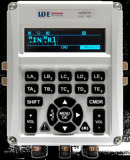 WiSPR – Software Defined Tactical Vehicular Intercom System