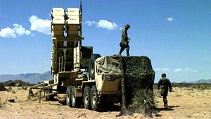 Patriot PAC3 Long Range Air Defense Missile System
