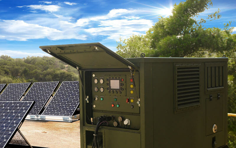 military energy storage system